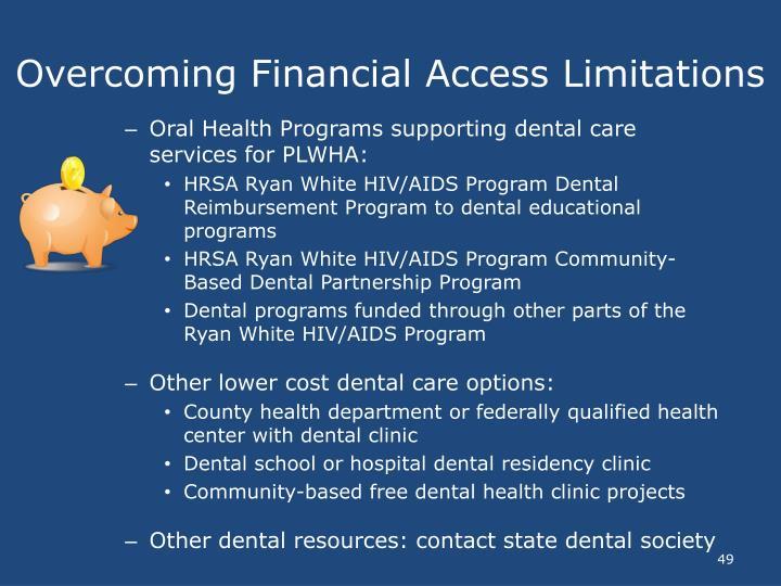 Overcoming Financial Access Limitations