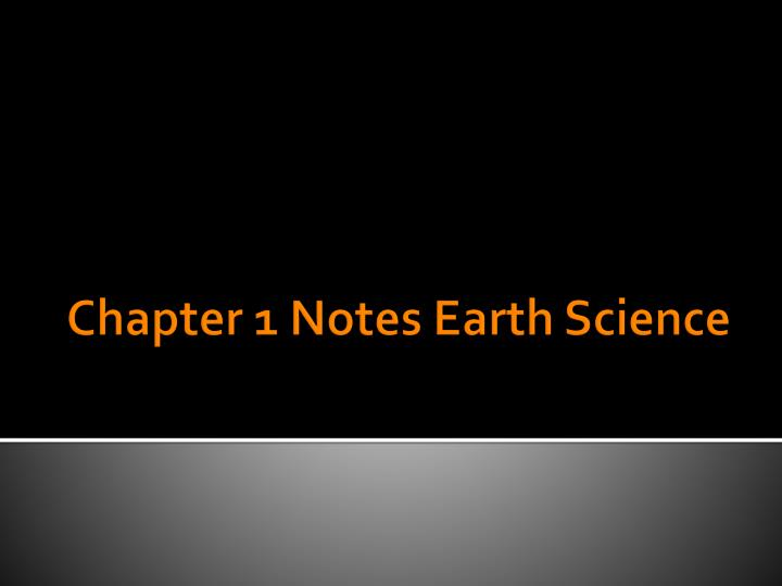 earth science chapter 1 questions The chapter in review section at the end of each chapter will also be useful in reviewing the chapter in eas 100, we will cover only a portion of the book as given in the assigned reading in the.