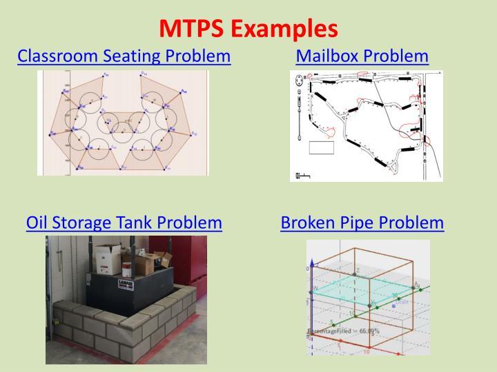 MTPS Examples