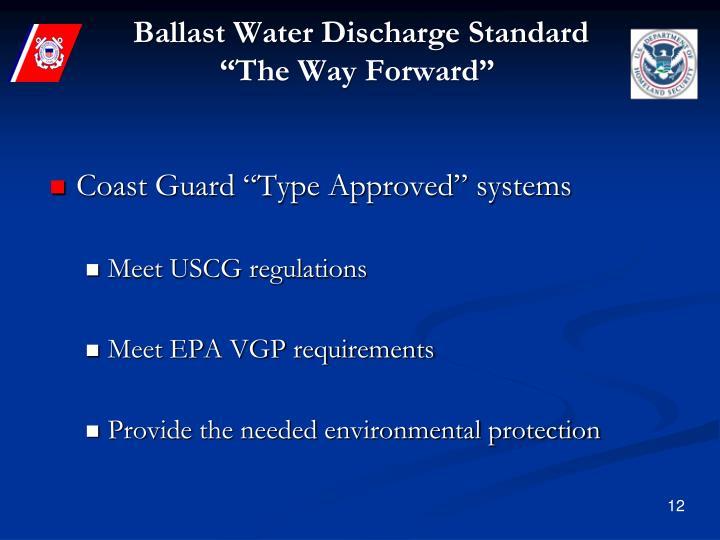 Ballast Water Discharge Standard