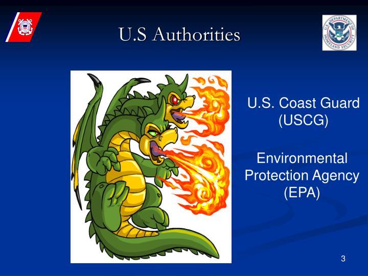 U s authorities