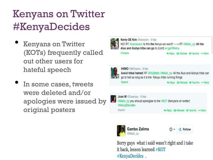 Kenyans on Twitter