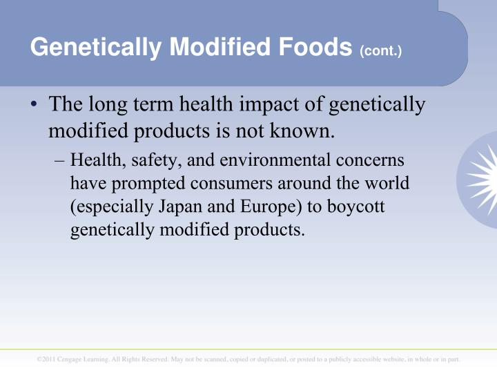 positive and negative impact of genetically modified food essay Get an answer for 'genetically modified food crops can have a negative impact on the environment describe two situations where this is the case' and find homework help for other biology questions at enotes.