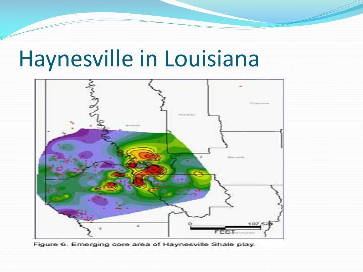 Haynesville in Louisiana