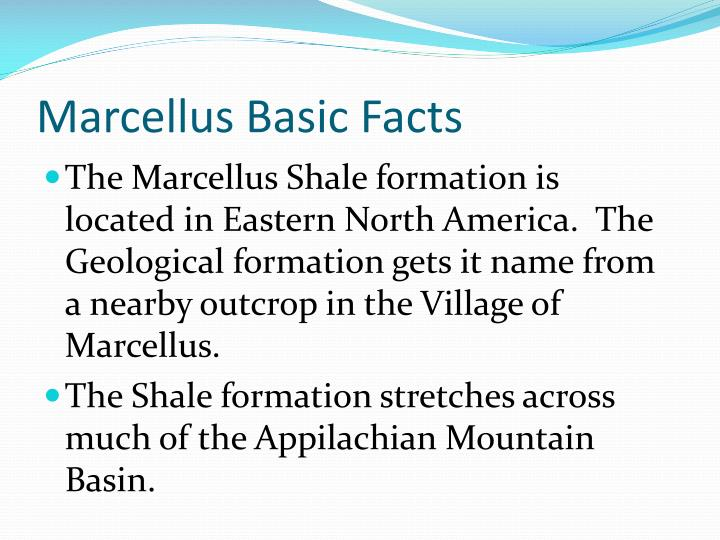 Marcellus basic facts