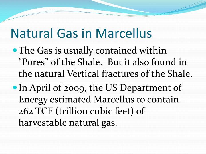 Natural Gas in Marcellus