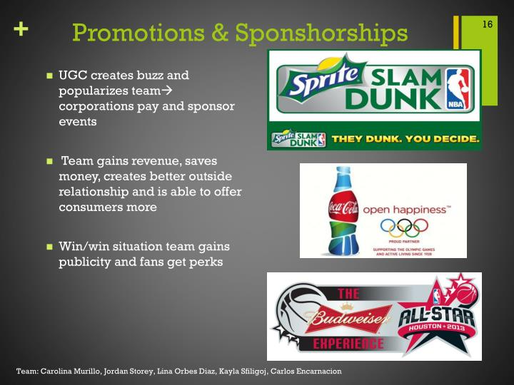 Promotions &