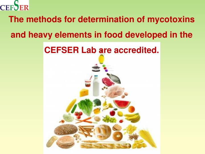 The methods for determination of