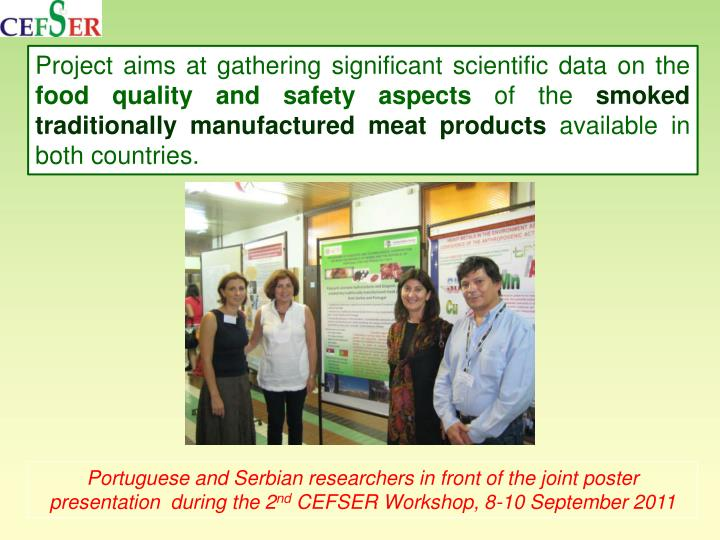 Project aims at gathering significant scientific data on the