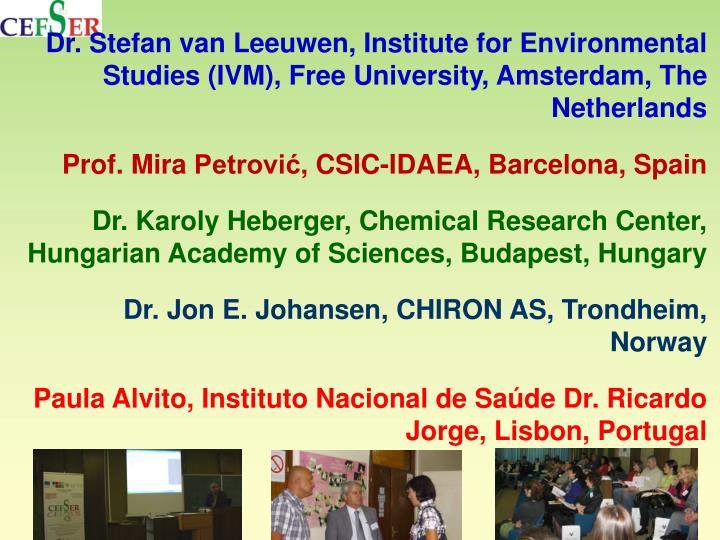 Dr. Stefan van
