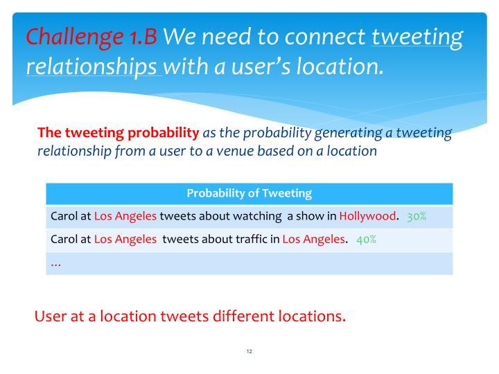 Challenge 1.B