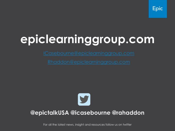 epiclearninggroup.com