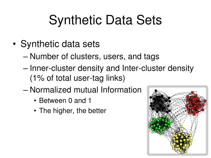 Synthetic Data Sets