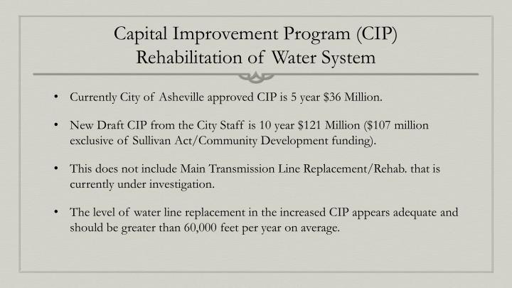 Capital Improvement Program (CIP)