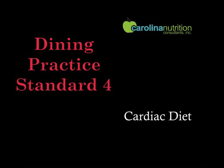 Cardiac Diet