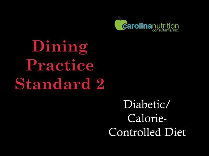 Diabetic/