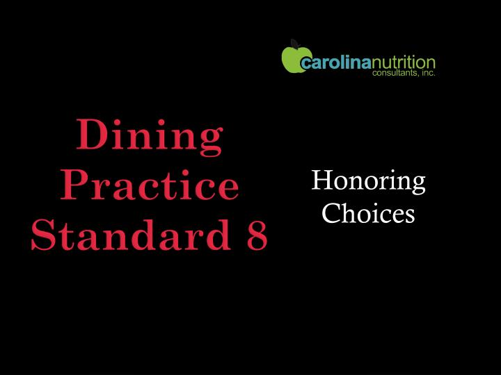 Honoring Choices