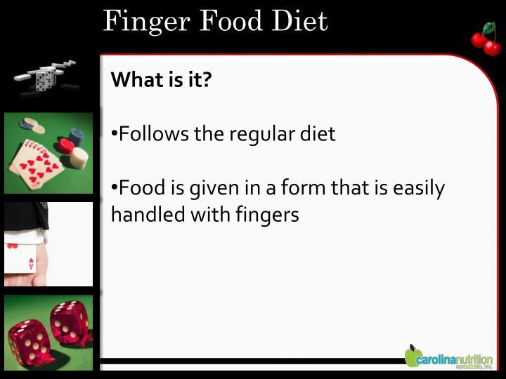 Finger Food Diet