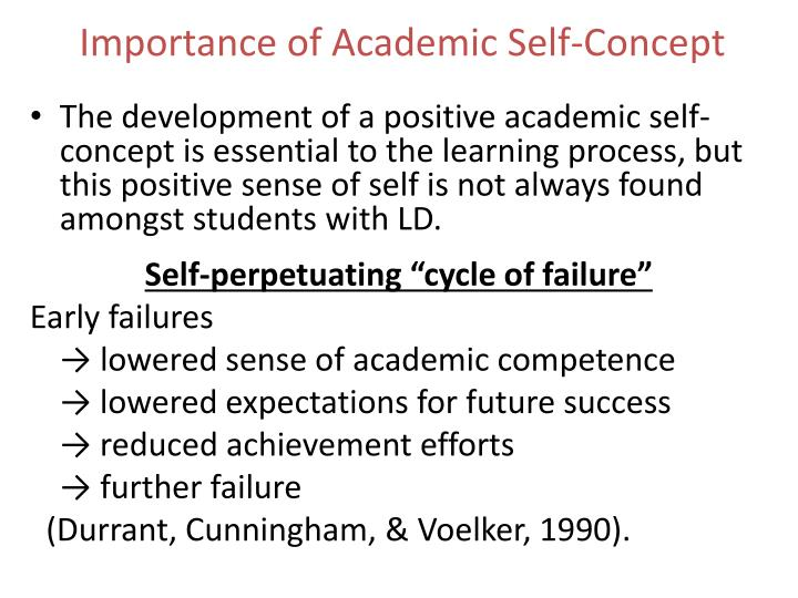 Importance of Academic Self-Concept