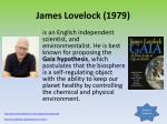 james lovelock 1979