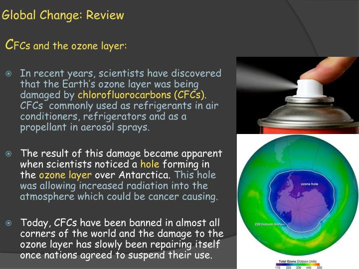 Global Change: Review
