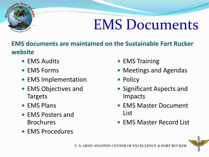 EMS Documents