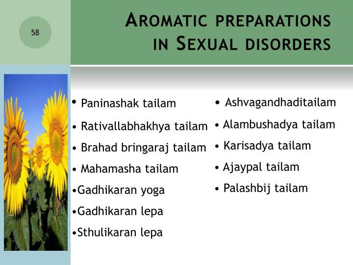 Aromatic preparations