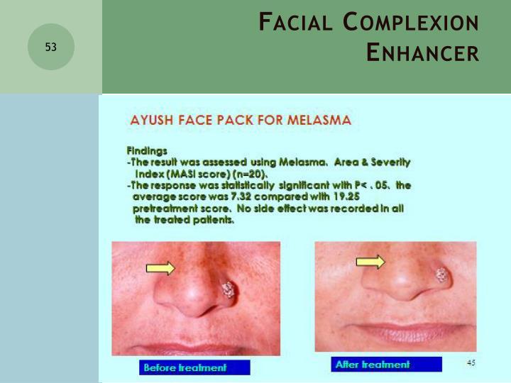 Facial Complexion Enhancer