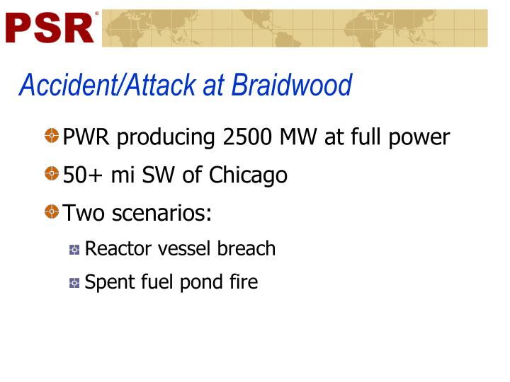 Accident/Attack at Braidwood