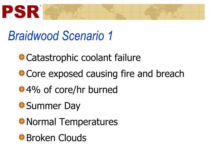 Braidwood Scenario 1
