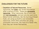 challenges for the future6