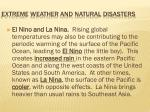 extreme weather and natural disasters10