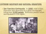 extreme weather and natural disasters3