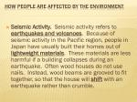 how people are affected by the environment8