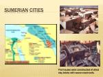 sumerian cities