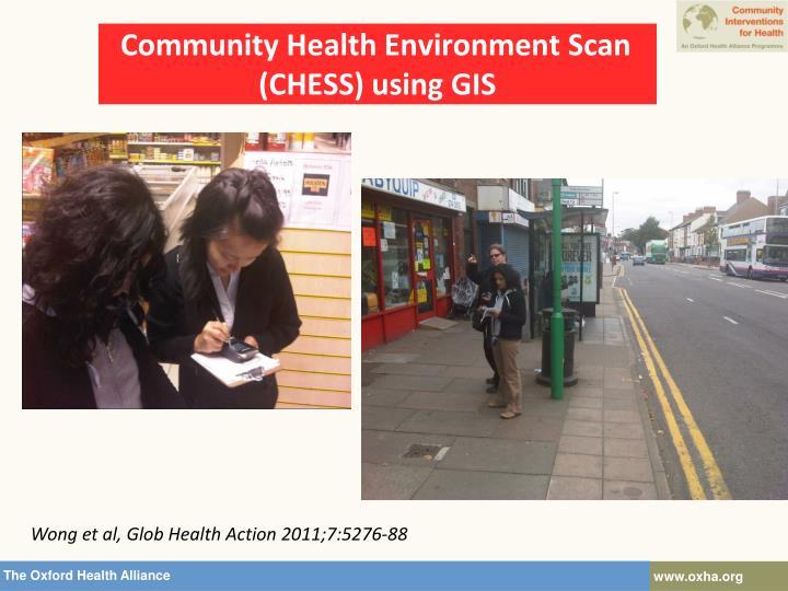 Community Health Environment Scan (CHESS) using GIS