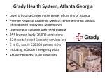 grady health system atlanta georgia