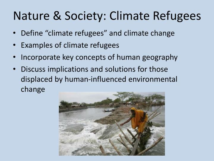 Ppt Climate Refugees Powerpoint Presentation Id1622891