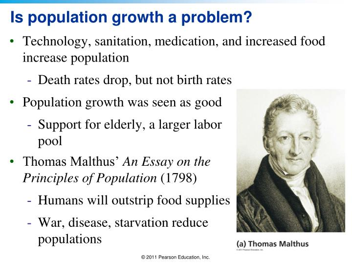 Is population growth a problem?