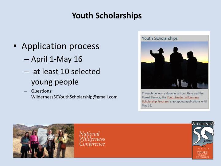 Youth Scholarships