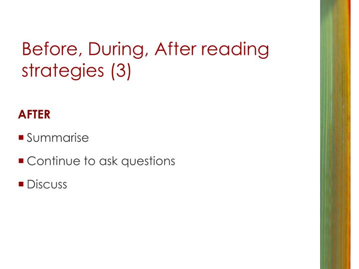 Before, During, After reading strategies (3)