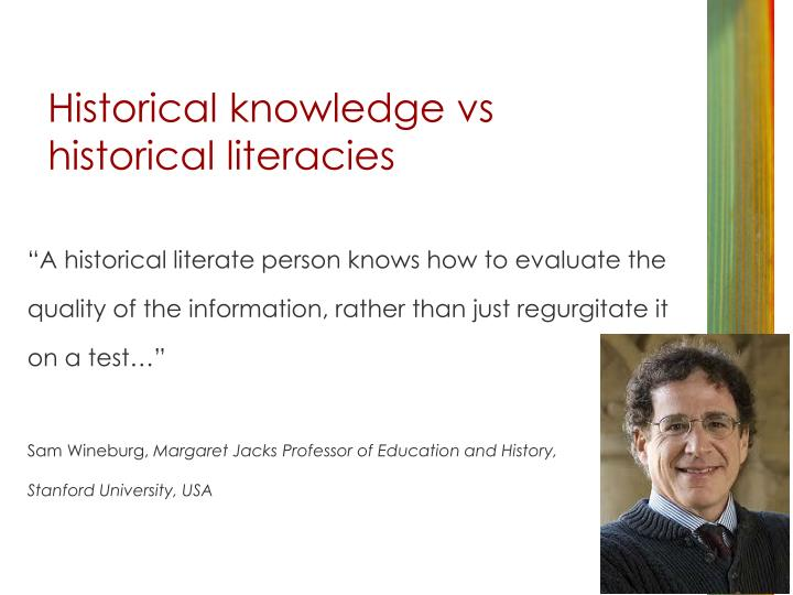 Historical knowledge