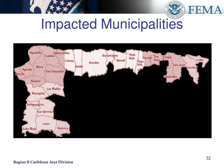 Impacted Municipalities