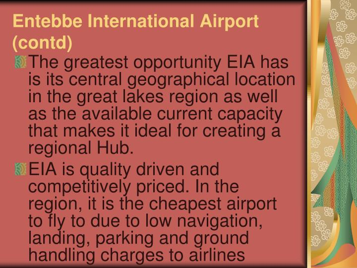 Entebbe international airport contd