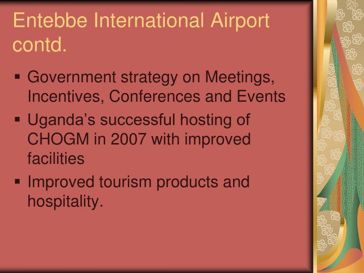 Entebbe International Airport contd.