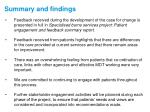 summary and findings