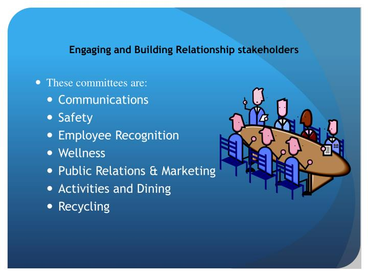 Engaging and Building Relationship
