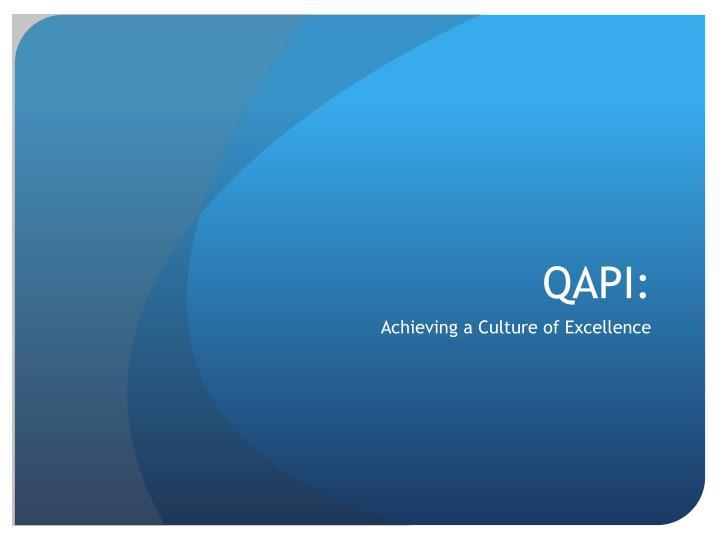 QAPI: