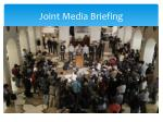 joint media briefing