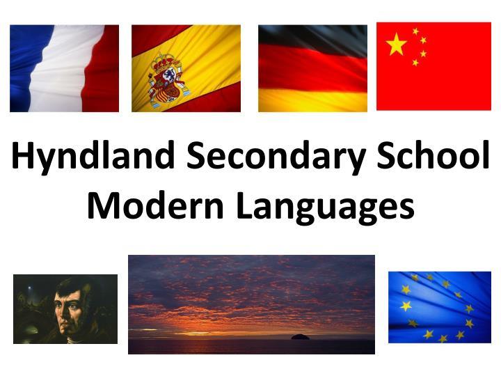 Hyndland secondary school modern languages